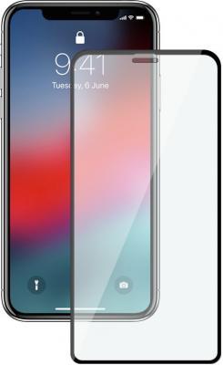 Защитное стекло 3D Deppa 62444 для iPhone XS Max 0.3 мм черная рамка 62444 защитное стекло 3d iphone xs max borasco 34981