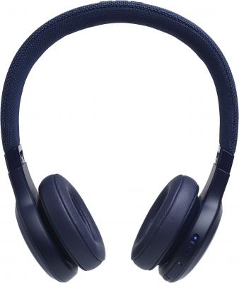Гарнитура JBL Live 400BT синий headphones jbl live 400bt