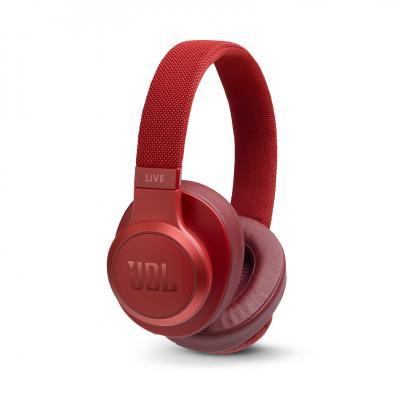 Наушники JBL Наушники беспроводные JBL Live 500 BT, красные тест jbl