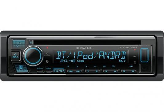 Автомагнитола CD Kenwood KDC-BT530U 1DIN 4x50Вт автомагнитола kenwood kmm 105ry 1din 4x50вт