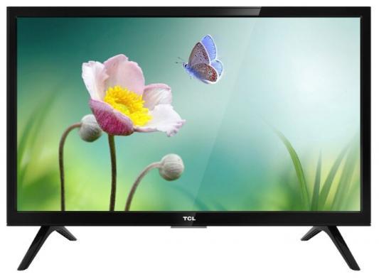 """лучшая цена Телевизор LED TCL 24"""" LED24D3000 черный/HD READY/60Hz/DVB-T/DVB-T2/DVB-C/DVB-S/DVB-S2/USB (RUS)"""
