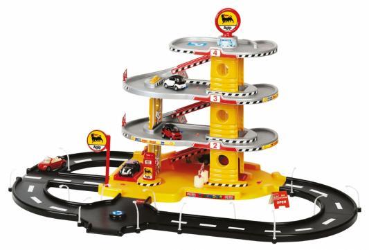 Купить Игровой набор FARO 804 Гараж 4 уровня 47см, Пластик, Для мальчиков, Гаражи, парковки, треки