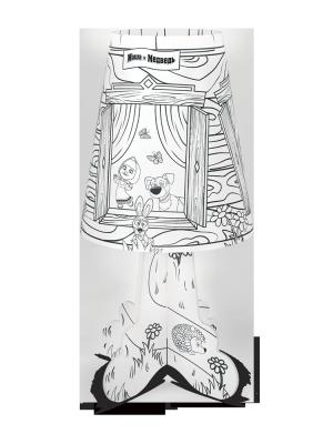 Фото - Ночник ФОТОН 22977 настольный Маша и Медведь. Сказка-раскраска ночник декоративный фотон маша и медведь маша и чтение dnm 01