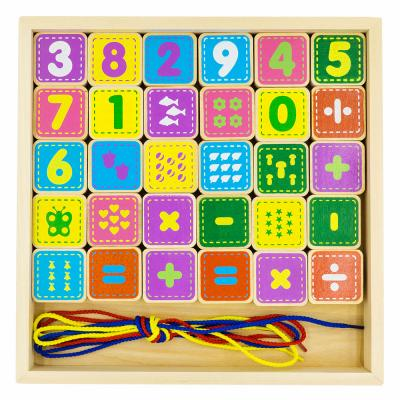 Шнуровка ALATOYS КШЦ3003 Цифры конструктор развивающий alatoys шнуровка цифры