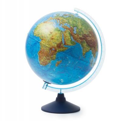 Купить Глобус GLOBEN INT13200289 Интерактивный физико-политический с подсветкой (батарейки) 320, Пластик, Для всех, Глобусы