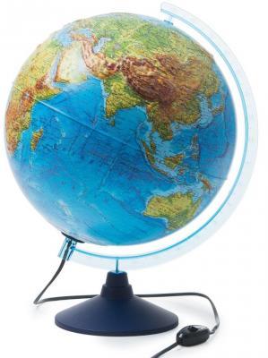 Купить Глобус GLOBEN INT13200290 Интерактивный физико-политический с подсветкой рельефный 320, Пластик, Для всех, Глобусы