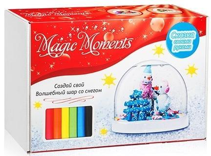 Набор для творчества MAGIC MOMENTS mm-1 Волшебный шар Снеговики цена 2017