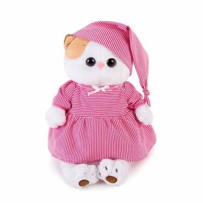 Мягкая игрушка кошка BUDI BASA Ли-Ли в розовой пижамке искусственный мех 24 см цены
