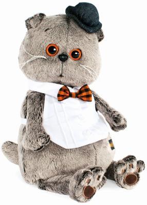 Купить Мягкая игрушка BUDI BASA Ks30-015 Басик в манишке 30 см, Животные