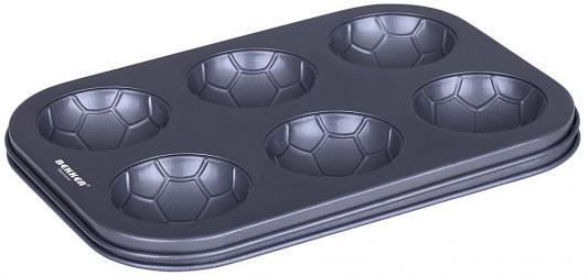 3948-BK Форма для выпечки BEKKER Размер 35*26,5*2см., 6 отделений. Состав: углеродистая сталь.