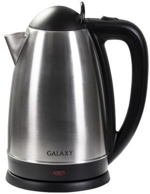 Купить Чайник электрический GALAXY GL 0321 2000 Вт серебристый 2.5 л нержавеющая сталь