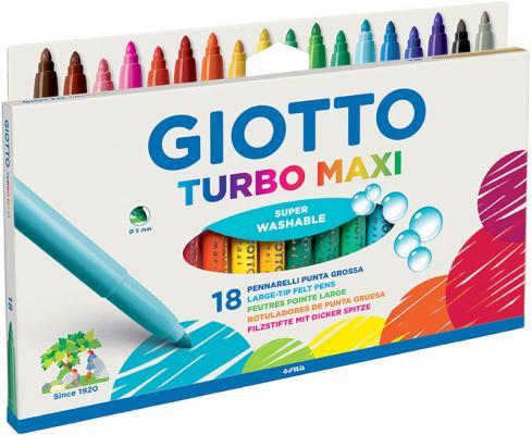 цены на Фломастеры GIOTTO 076300 TURBO MAXI 18 цв  в интернет-магазинах