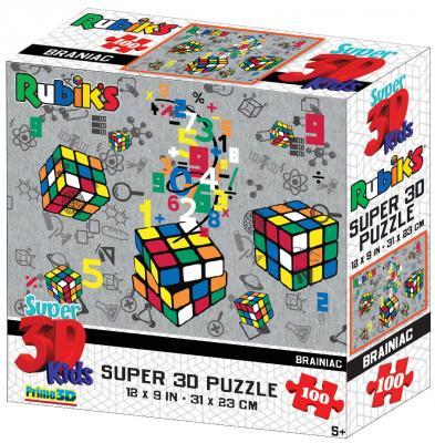 Стерео пазл Prime 3d Кубическая вселенная 100 элементов цена