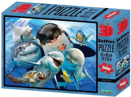 Стерео пазл Prime 3d Селфи в океане 500 элементов цена