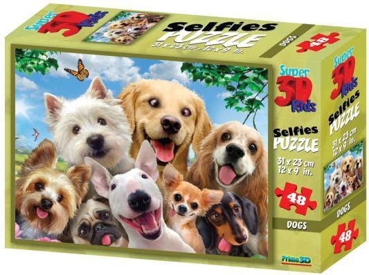 Стерео пазл PRIME 3D 10539 Собаки селфи 2 стерео пазл 500 элементов prime 3d экзотическая живая природа