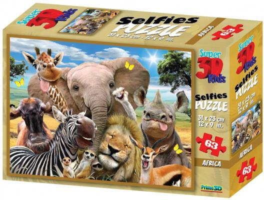 Стерео пазл PRIME 3D 10543 Африка селфи 2 цена