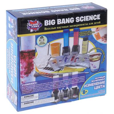 Научно-познавательный набор BIG BANG SCIENCE Изменение цвета