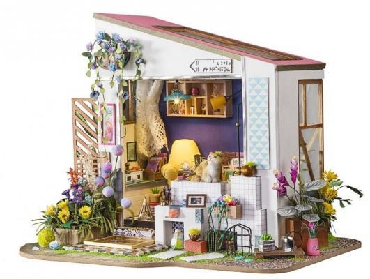 Конструктор DIY HOUSE Летний домик конструктор diy house зимний сад