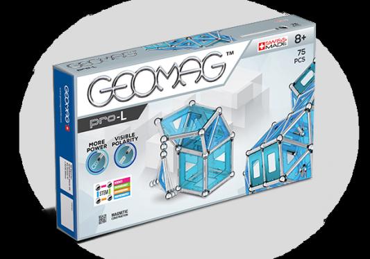 Магнитный конструктор Geomag Pro-L 75 элементов geomag конструктор магнитный geomag pro l 110 деталей