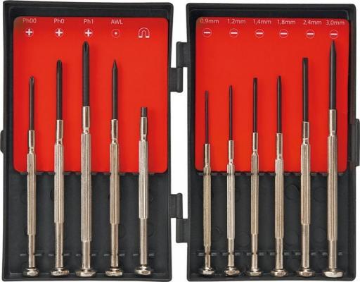 Набор отверток Top Tools 39D194 прецизионные набор 11 шт