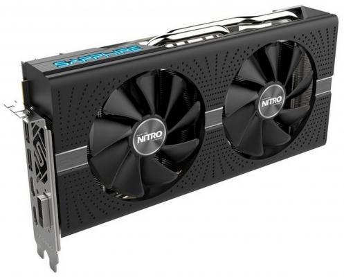 Видеокарта 8192Mb Sapphire Radeon RX 570 11266-09-20G PCI-E 256 Bit Retail видеокарта msi radeon rx vega 56 rx vega 56 air boost 8g oc pci e 8192mb 2048 bit retail