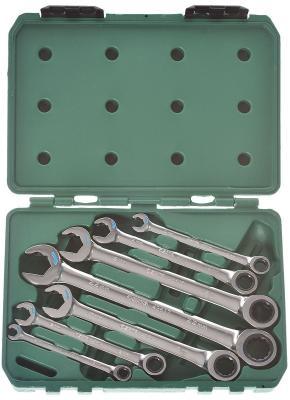 Набор комбинированных ключей SATA 09050 (8 - 22 мм) 7 шт. набор ключей sata 11пр 09022