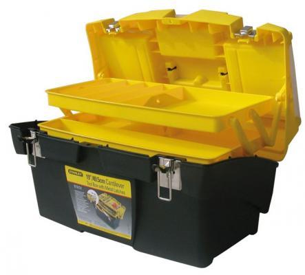 цена на Ящик STANLEY 1-92-911 для инструмента с металлическими замками 49.5х26.5х26.1см