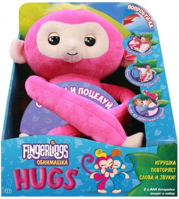Мягкая игрушка FINGERLINGS 3532 Обезьянка обнимашка розовая