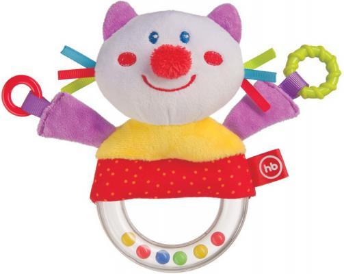 Фото - Погремушка Happy Baby Кот браслет погремушка happy baby juicy strawberry