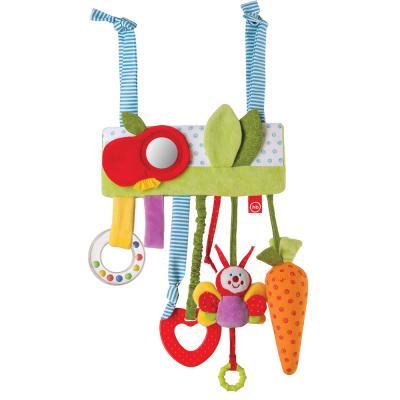 Купить Интерактивная игрушка Happy Baby JOLLY GARDEN с рождения, разноцветный, полиэстер, унисекс, Игрушки-подвески