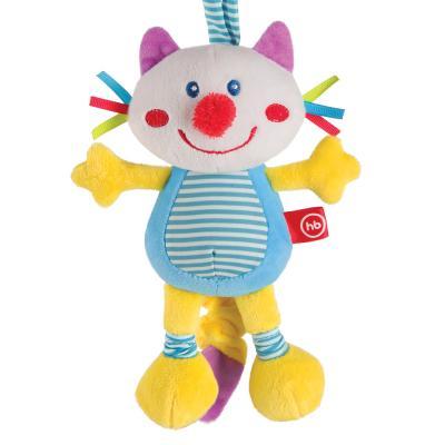 Интерактивная игрушка Happy Baby FRISKY KITTY. с рождения happy baby развивающая игрушка колокольчик perky kitty happy baby