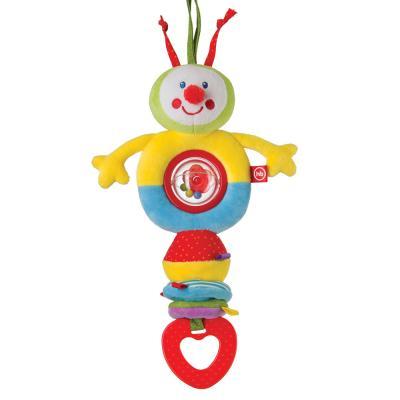 Купить Интерактивная игрушка Happy Baby TALKY CATERPILLAR с рождения, разноцветный, полиэстер, унисекс, Игрушки-подвески