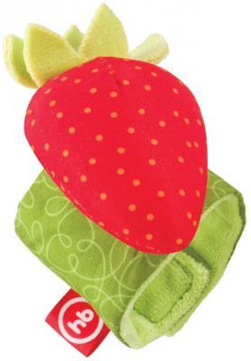 Фото - Игрушка HAPPY BABY 330348 JUICY STRAWBERRY. браслет погремушка happy baby juicy strawberry
