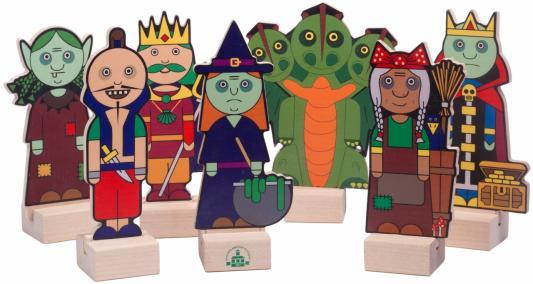 Набор КРАСНОКАМСКАЯ ИГРУШКА Н-65 Злодеи краснокамская игрушка деревянная пирамидка краснокамская игрушка семицветик
