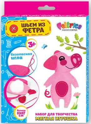Купить Набор для творчества FELTRICA 59654 Поросёнок, Наборы для аппликации