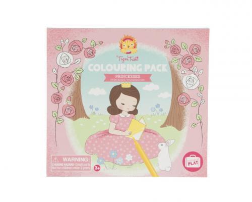 Купить Набор для творчества TIGER TRIBE Принцессы 6 цветов, Прочие краски