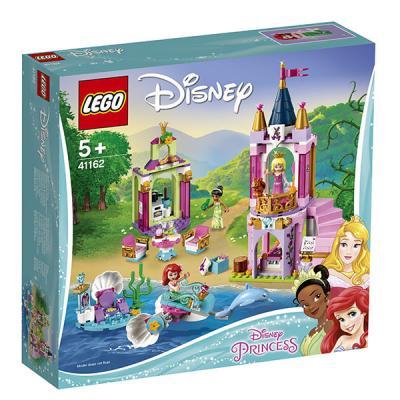 Купить Конструктор LEGO Королевский праздник Ариэль, Авроры и Тианы 282 элемента, Конструкторы