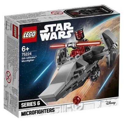 Конструктор LEGO Микрофайтеры: Корабль-лазутчик ситхов 92 элемента конструктор lego транспортный корабль сопротивления