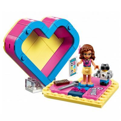 Конструктор LEGO Шкатулка-сердечко Оливии 85 элементов