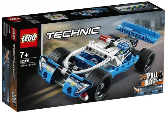 Конструктор LEGO Полицейская погоня 120 элементов игрушка majorette набор полицейская погоня 2057300