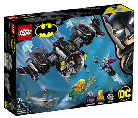 Купить Конструктор LEGO Подводный бой Бэтмена 174 элемента, Конструкторы