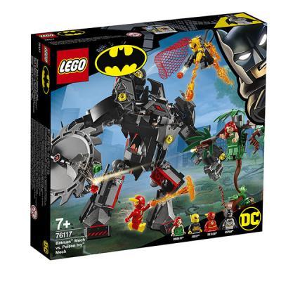 цена на Конструктор LEGO Робот Бэтмена против робота Ядовитого Плюща 375 элементов