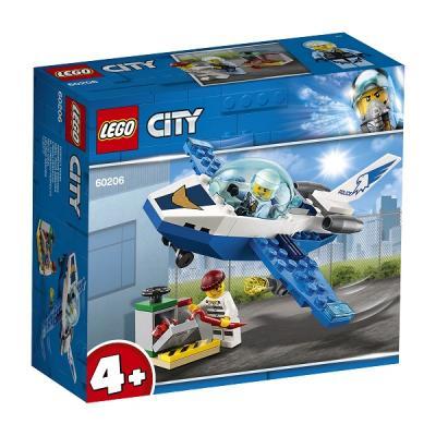 Конструктор LEGO Воздушная полиция: Патрульный самолёт 54 элемента конструктор lego city патрульный самолёт 54 дет 60206