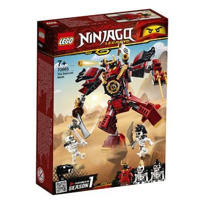 Конструктор LEGO Робот-самурай 154 элемента конструктор lego робот самурай 70665 ninjago legacy