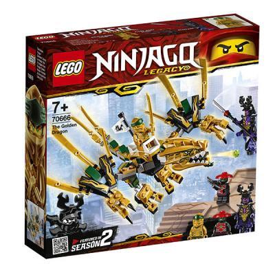 Конструктор LEGO Золотой Дракон 171 элемент конструктор lego золотой дракон 70666 ninjago legacy