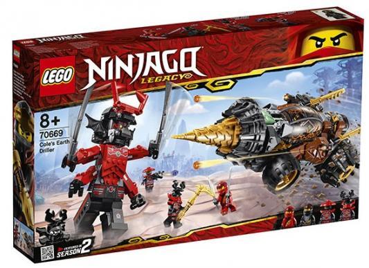 Конструктор LEGO Земляной бур Коула 587 элементов конструктор lego земляной бур коула 70669 ninjago legacy