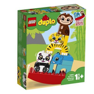 Конструктор LEGO Мои первые цирковые животные 15 элементов lego duplo 10884 лего дупло мои первые цирковые животные
