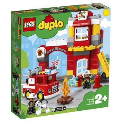 Конструктор LEGO Пожарное депо 76 элементов оптика депо