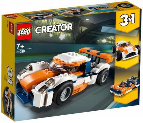 Конструктор LEGO Оранжевый гоночный автомобиль 221 элемент конструктор lego technic гоночный автомобиль 42077