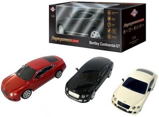 Автомобиль Wincars Bentley Continental GT пластик, металл от 6 лет в ассортименте цена